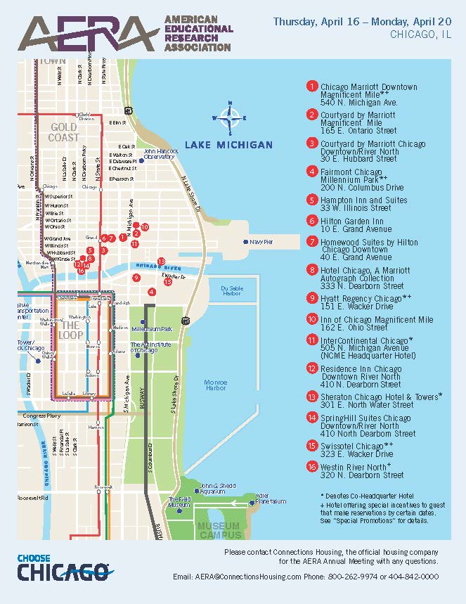 HousingTravel And Tourism - Downtown chicago map pdf