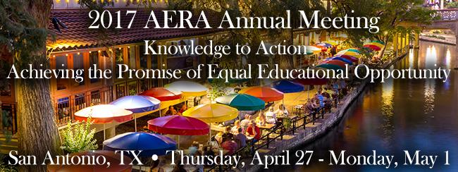 American Educational Research Association (AERA) Annual Meeting