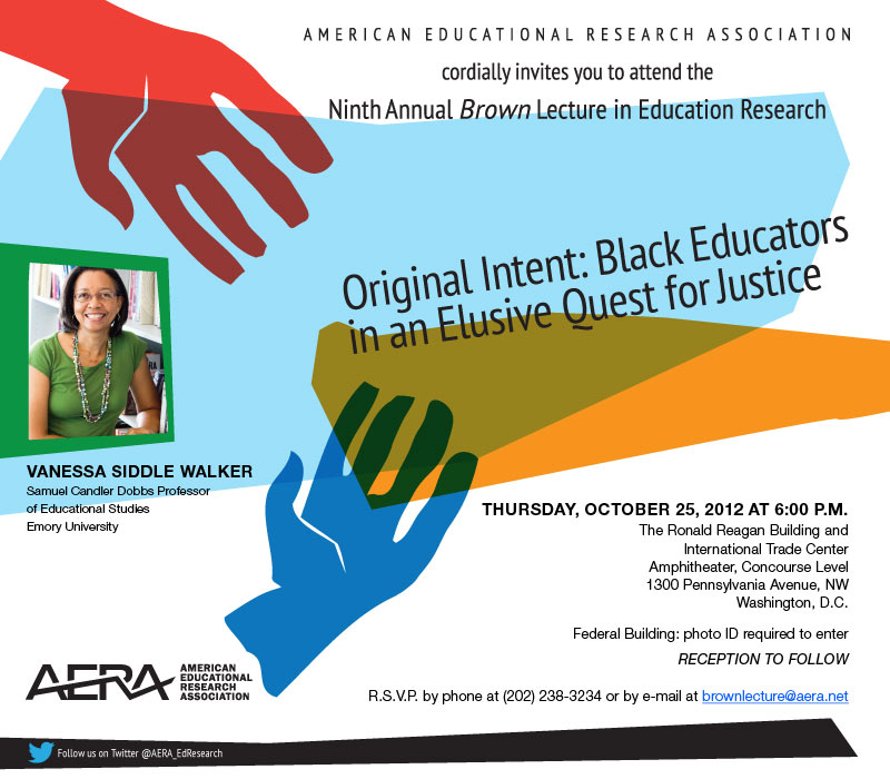 2012 AERA Brown Lecture