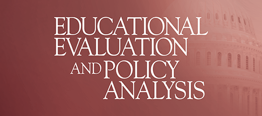 Educational Evaluation and Policy Analysis cover