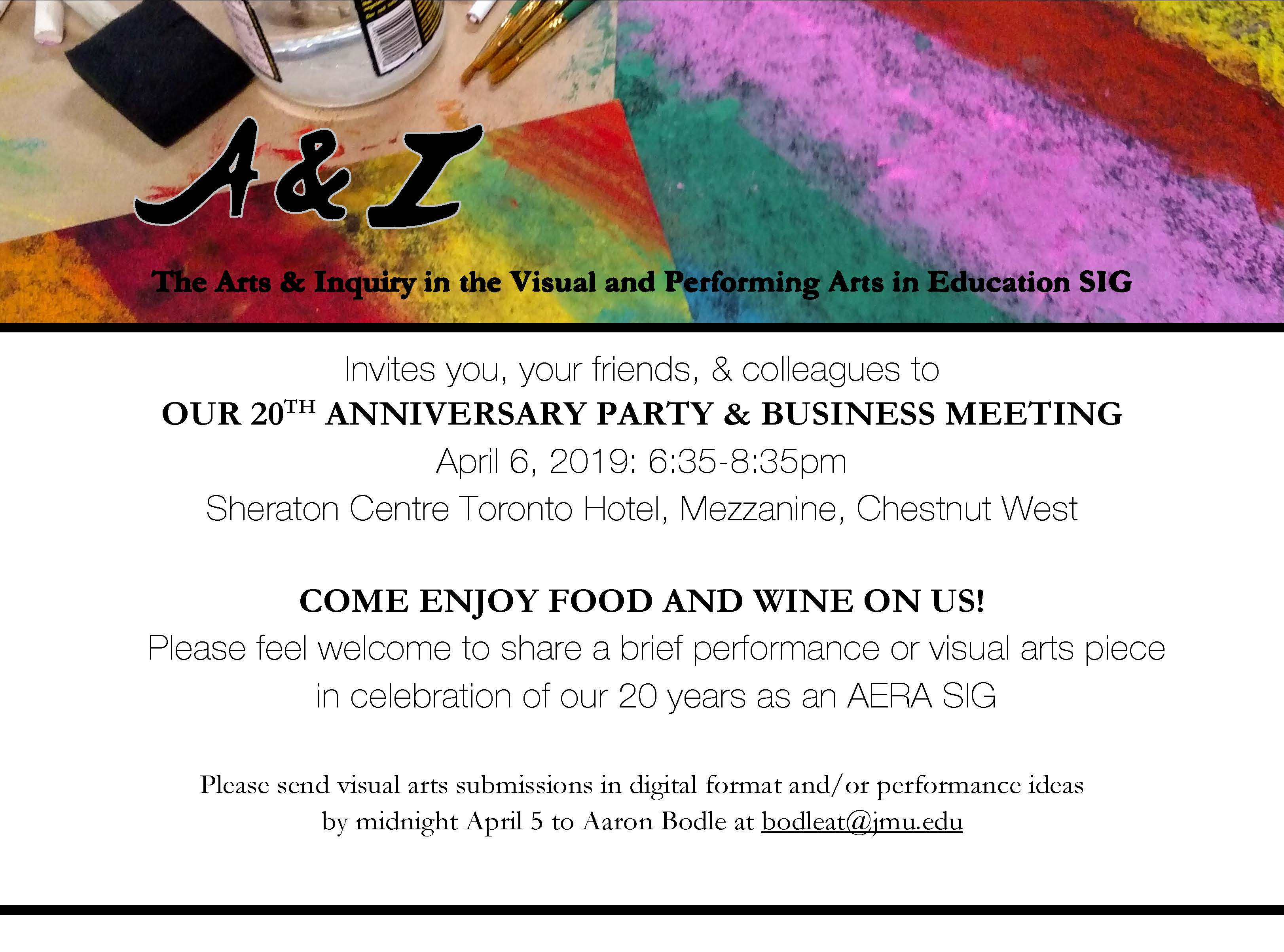 20th Anniversary Party and Business Meeting A&I SIG invite_Page_1636880930242458329
