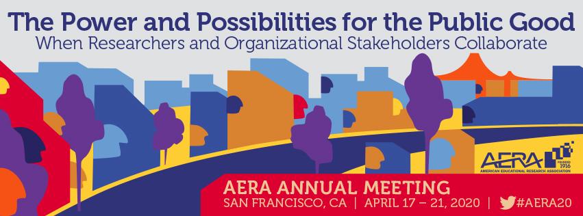 AERA 2020 Annual Meeting Banner