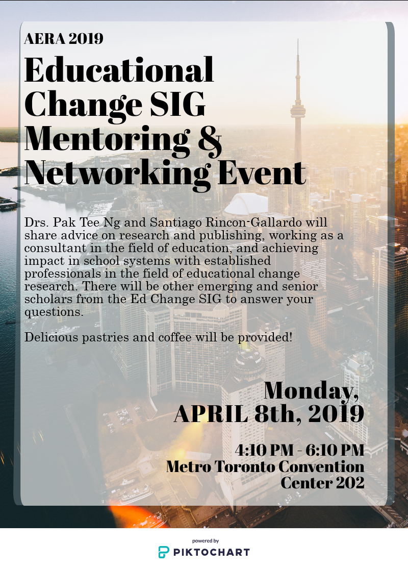 Ed Change SIG Mentoring Event Flyer_0404